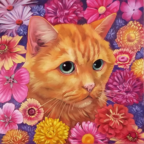 Custom Pet Portrait DEPOSIT