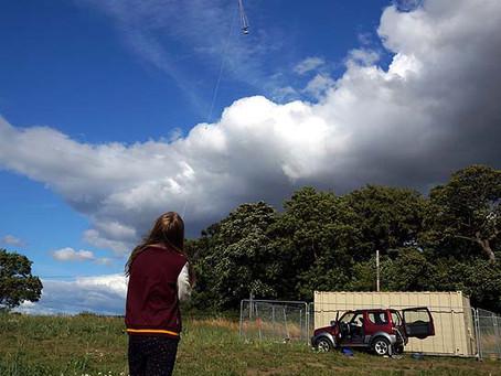 Let's go fly a camera kite