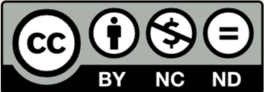 表示 - 非営利 - 改変禁止 4.0 国際 ライセンス