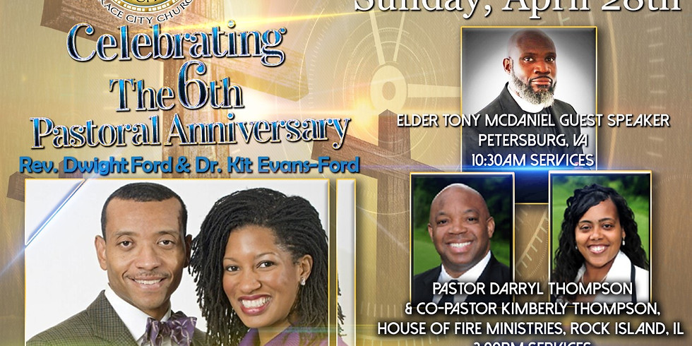6th Pastoral Anniversary Celebration - No RSVP Required