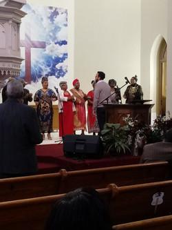 Choir on 2-10-19