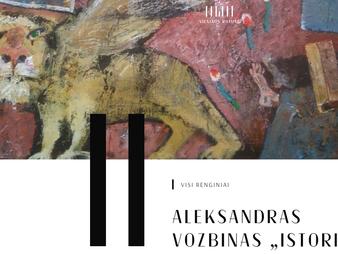 Aplankykite A. Vozbino parodą Vilniaus rotušėje