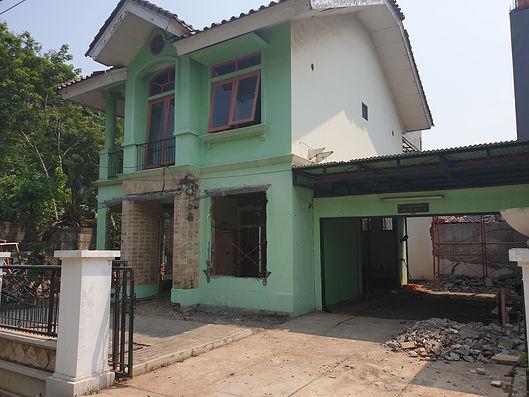 Renovasi Rumah Perlebar Rumah
