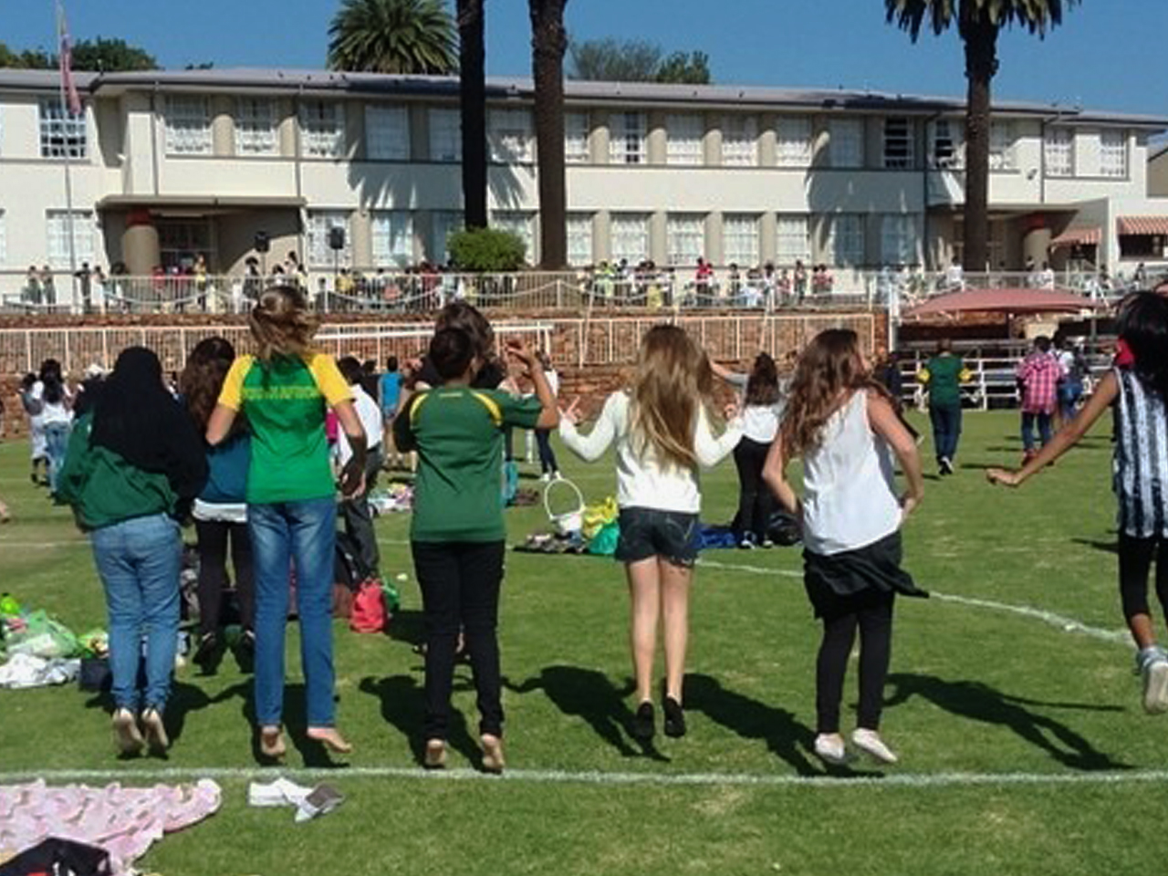 Athletics day fun