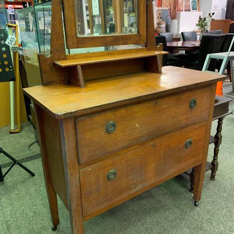 Silky Oak Dresser $285