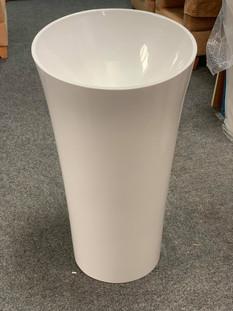 Round Pedestal Vanity