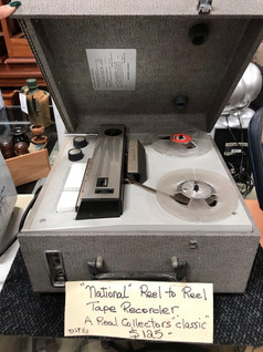 Collector's Tape Recorder $125