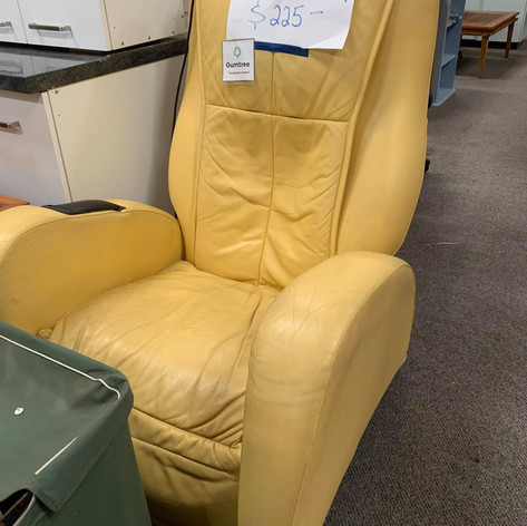 Yellow Massage Chair $225