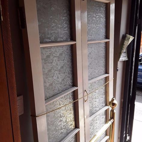 White French Doors