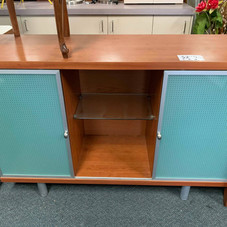 Entertainment Unit with Glass Doors $225