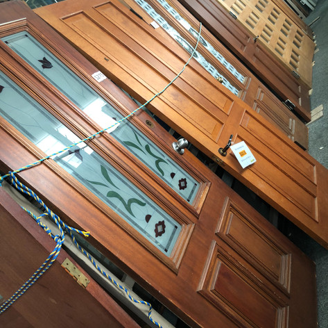 There are a range of Entryway doors available in store