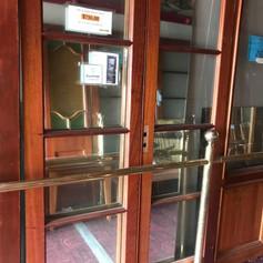 Cedar French Doors