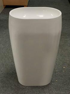 Oval Pedestal Vanity