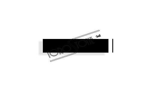 Schweizer 119 x 25 x 1.6 Kunststoff schwarz Briefkastenschild