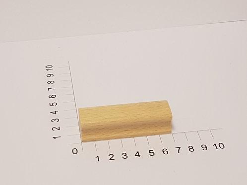 """Holzstempel """"Schulstempel"""" 20 x 70 mm"""