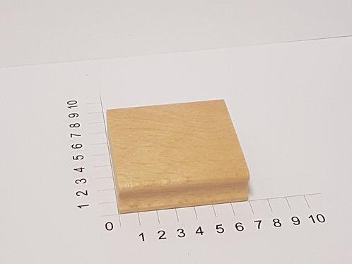 """Holzstempel """"Schulstempel"""" 70 x 70 mm"""