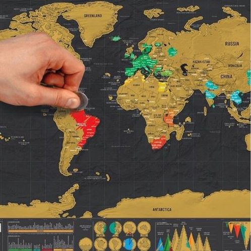 Scratch Map - World Map