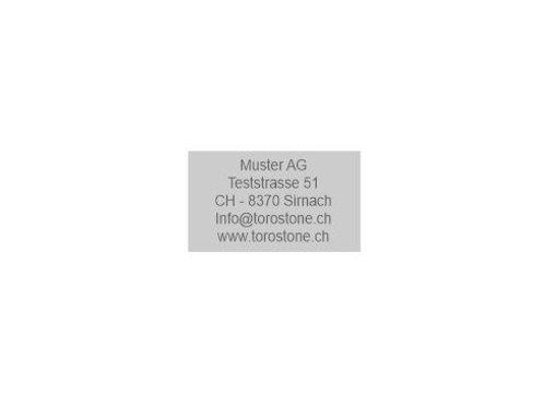 Textplatte Trodat Printy 4941 - Textstempel - 41 x 24 mm - 5 Zeilen