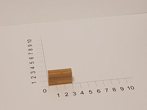 """Holzstempel """"Schulstempel"""" 10 x 30 mm"""