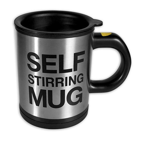 Thermobecher selbstumrührend Self Stirring Mug