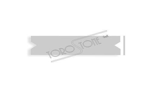 Renz 102 x 21,5 x 0.8 Briefkastenschild Kunststoff silber matt