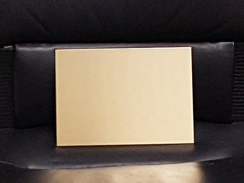 Messingschild mit Gravur210 x 148 mm