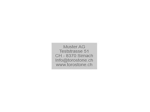 Textplatte Trodat Professional 5200 - Textstempel - 41 x 24 mm - 5 Zeilen