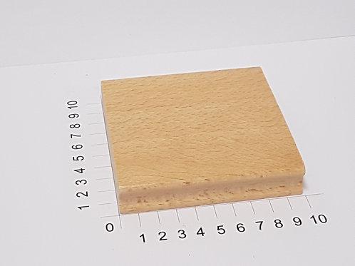 """Holzstempel """"Schulstempel""""100 x 100 mm"""