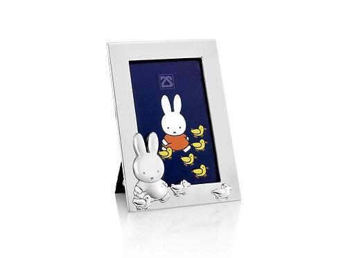 Fotorahmen Miffy mit Enten mit Gravur