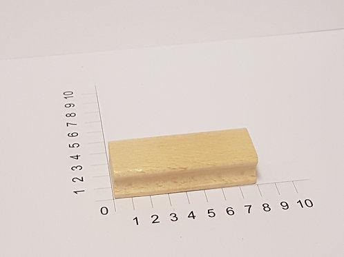 """Holzstempel """"Schulstempel"""" 30 x 80 mm"""