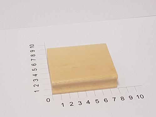"""Holzstempel """"Schulstempel"""" 70 x 80 mm"""