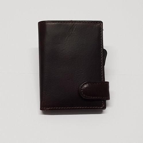 """Kreditkartenetui braun """"vintage"""""""