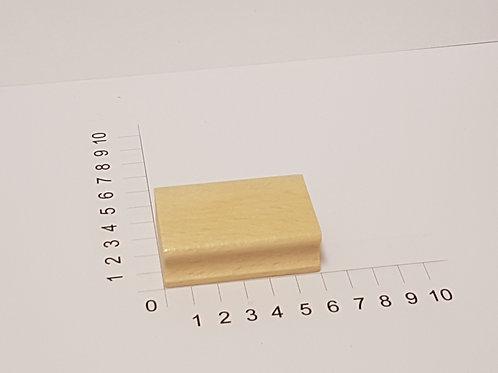 """Holzstempel """"Schulstempel"""" 40 x 60 mm"""