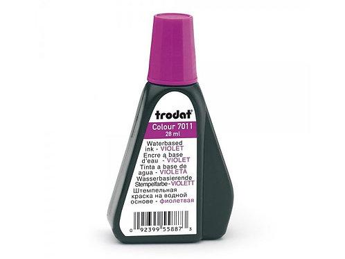 Stempelfarbe violett, Trodat Stempelfarbe