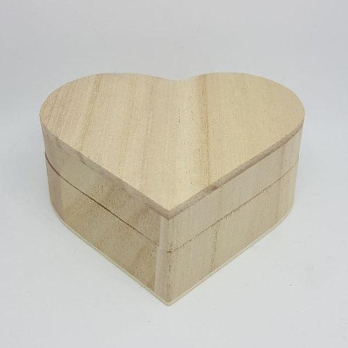 Herzbox aus Holz