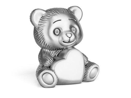 Spardose Bär mit Herz