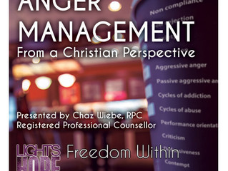 Come & Join Us! Anger Management Workshop - Summer 2016
