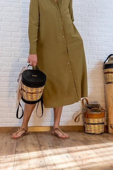 Basket & Leather