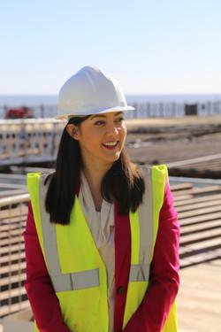 MP Sarah Owen, Hastings Pier