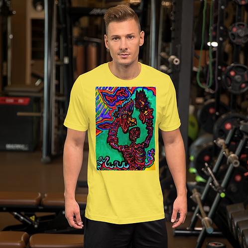 Rooster HandsShort-Sleeve Unisex T-Shirt