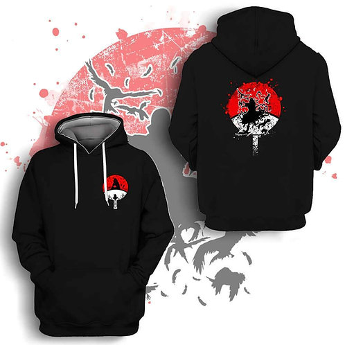 Uchiha Anime Special Design High quality Oem pullover hoodie