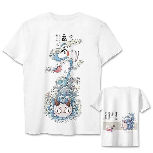 Glutinous rice balls Monster Anime T-shirt