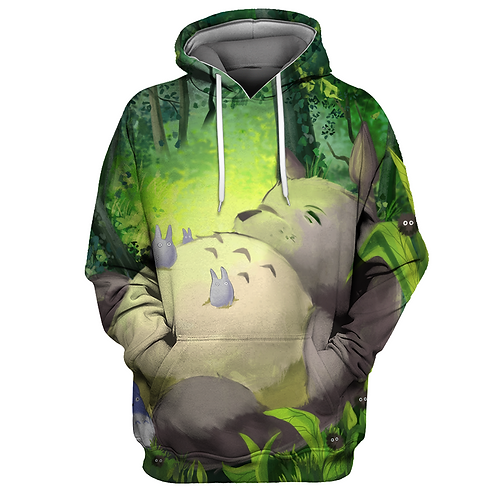 Samantha Gorel's Art Totoro High quality Oem pullover hoodie