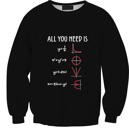 LOVE Formula Unisex Pullover Sweatshirt