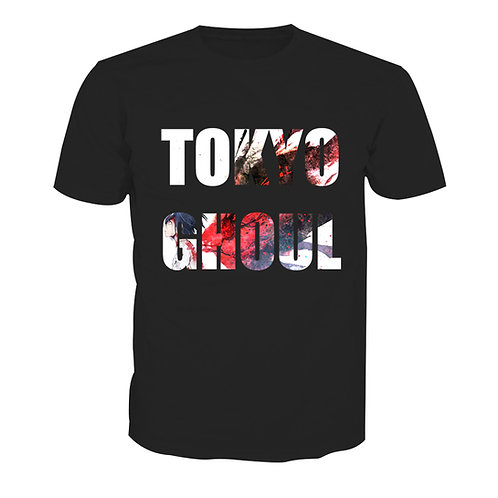 Tokyo Ghoul Special Design Anime High quality Oem pullover T-shirt