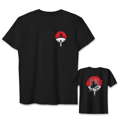 Naruto Uchiha Itachi Special Design Anime Whole Print Oem T-shirt