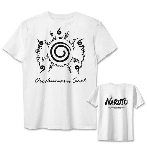 NARUTO Nine Tail Seal Anime T-shirt