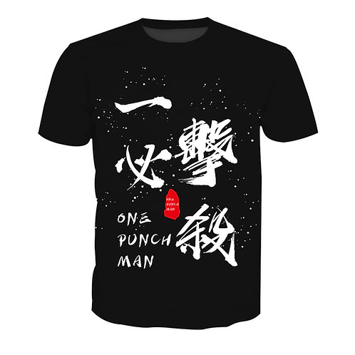 One Punch Man One Shot One Kill Anime T-shirt