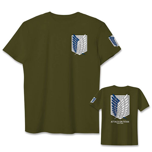 Attack On Titan Jiyuu no Tsubasa Wings of Freedom  T-shirt