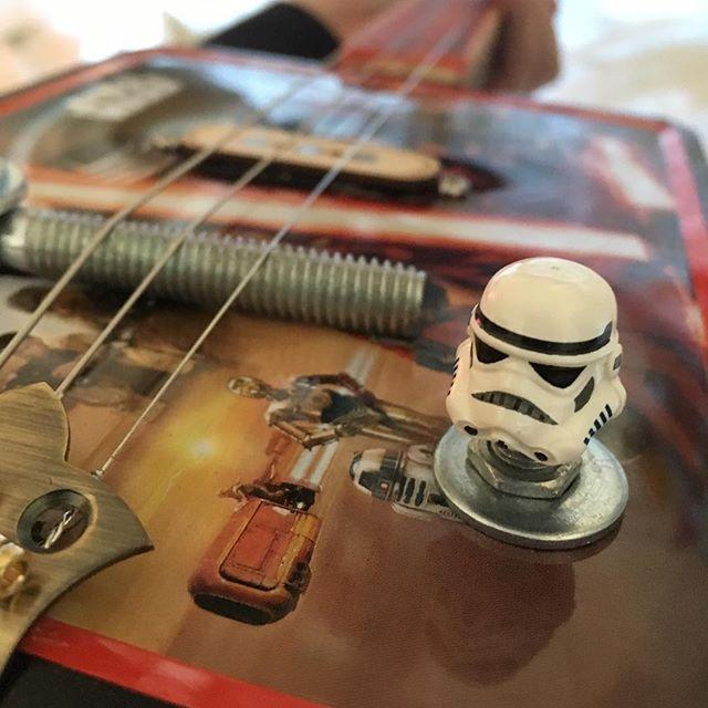 Lego storm trooper head volume knob!!!_._._